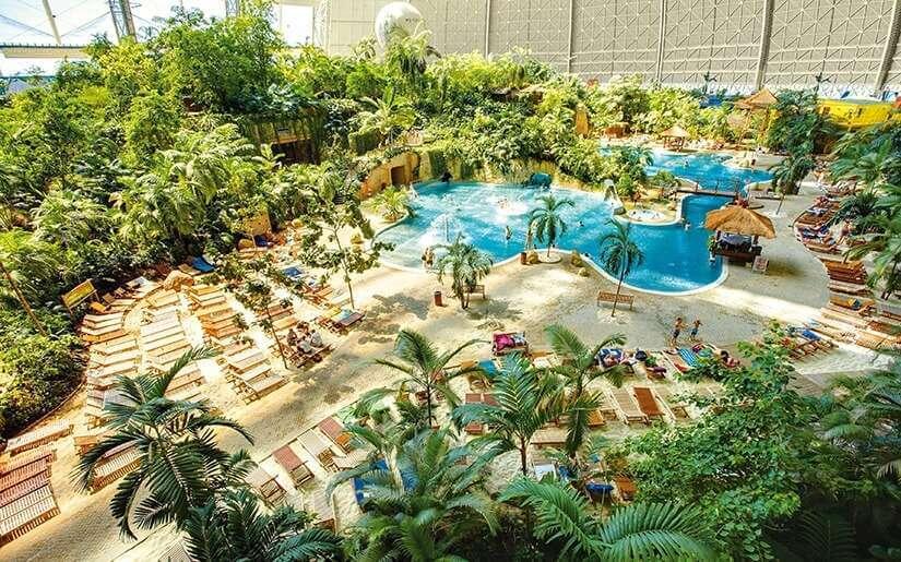 מתחם בריאות, ספא ופארק מים