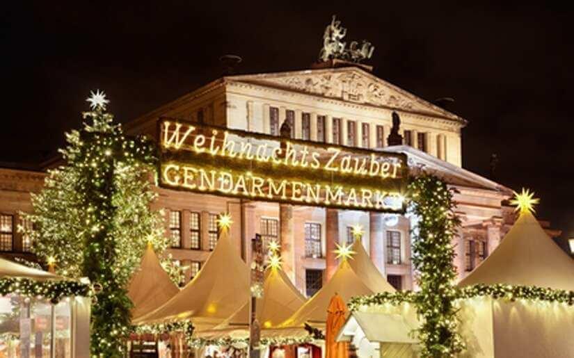 שוק חג המולד בז'נדרמנמרקט
