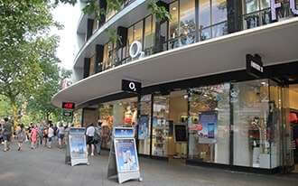 רחוב קניות בברלין