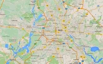 מפת ברלין