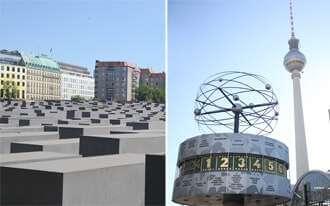 מאנדרטת השואה למגדל הטלוויזיה של ברלין