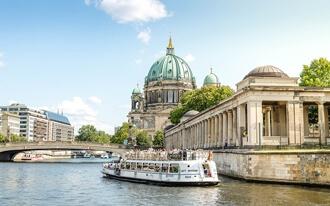 שייט על נהר השפרה בברלין - Berlin River Cruises