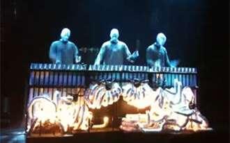 מופע בלו מן גרופ ברלין - Blue Man Group