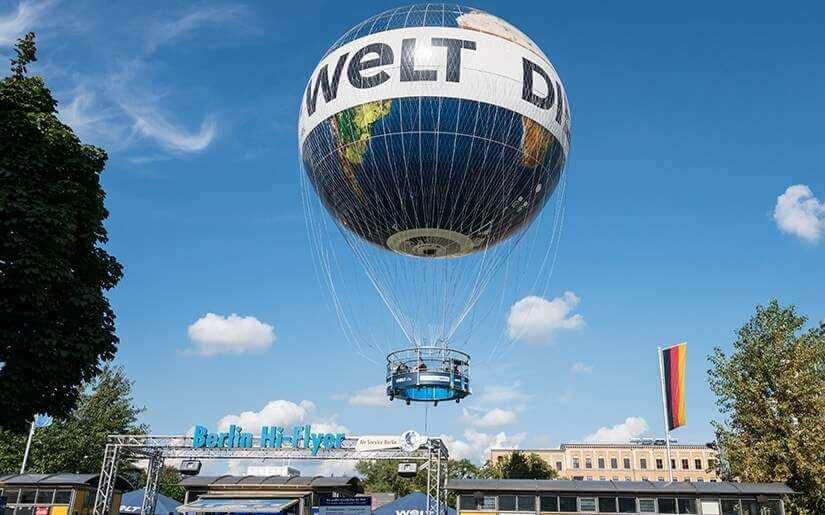 היי פלייר בלון - WELT Balloon Berlin