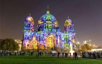 פסטיבל האורות של ברלין - מחזה מרהיב של אורות