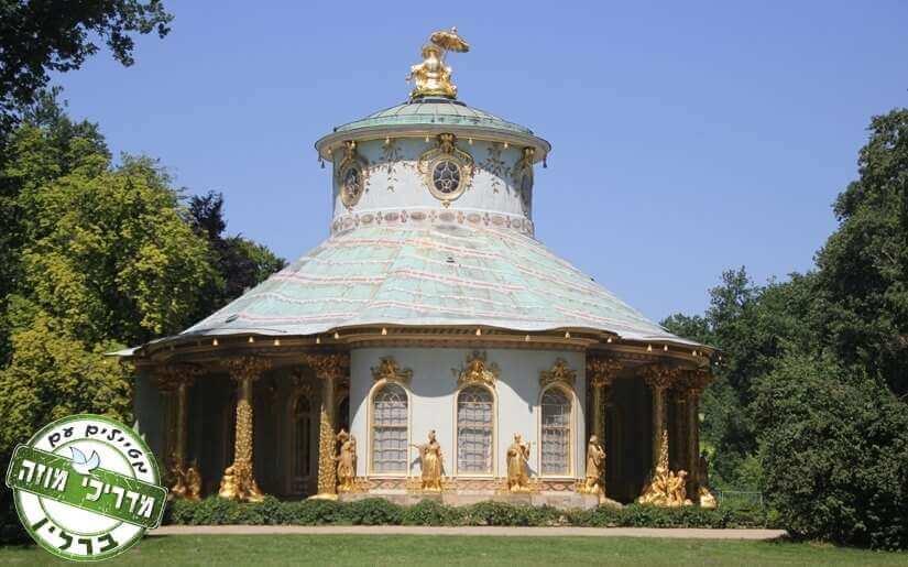מבנה בסגנון המזרח הרחוק : בית התה הסיני